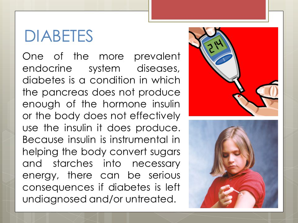 the causes and effects of endocrine disorders diabetes addisons disease and gigantism Diabetes mellitus is a group of metabolic disorders, characterized by elevated blood glucose (sugar) levels diabetes occurs if the body either does not produce enough of the hormone insulin , or because cells do not respond appropriately to insulin that is produced ( insulin resistance ) or both.