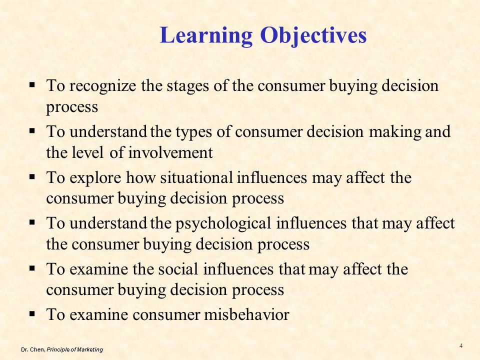 the stages of consumer buying decision Buying-process stages learning objectives describe the stages of the buying process the consumer decision process figure 1, below, outlines the process a consumer goes through in making a purchase decision once the process is started.