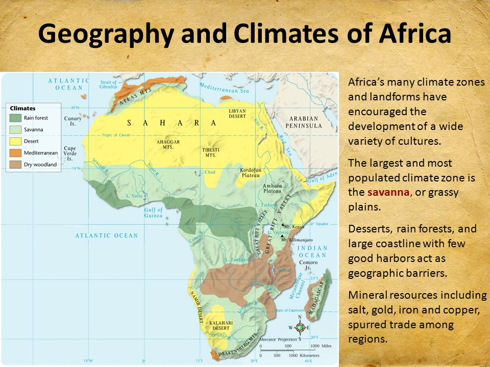 Kingdoms and trading states ppt video online download geography and climates of africa sciox Choice Image
