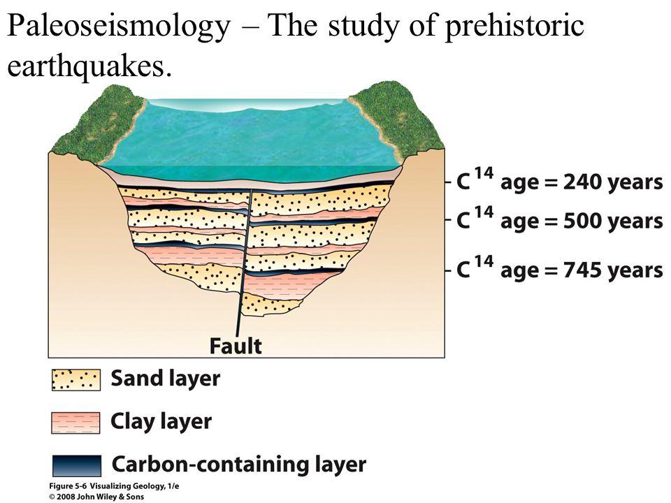 Paleoseismology – The study of prehistoric earthquakes.
