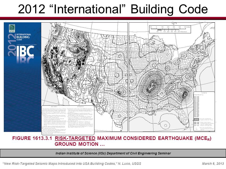 New Risk Targeted Seismic Maps Introduced Into Usa