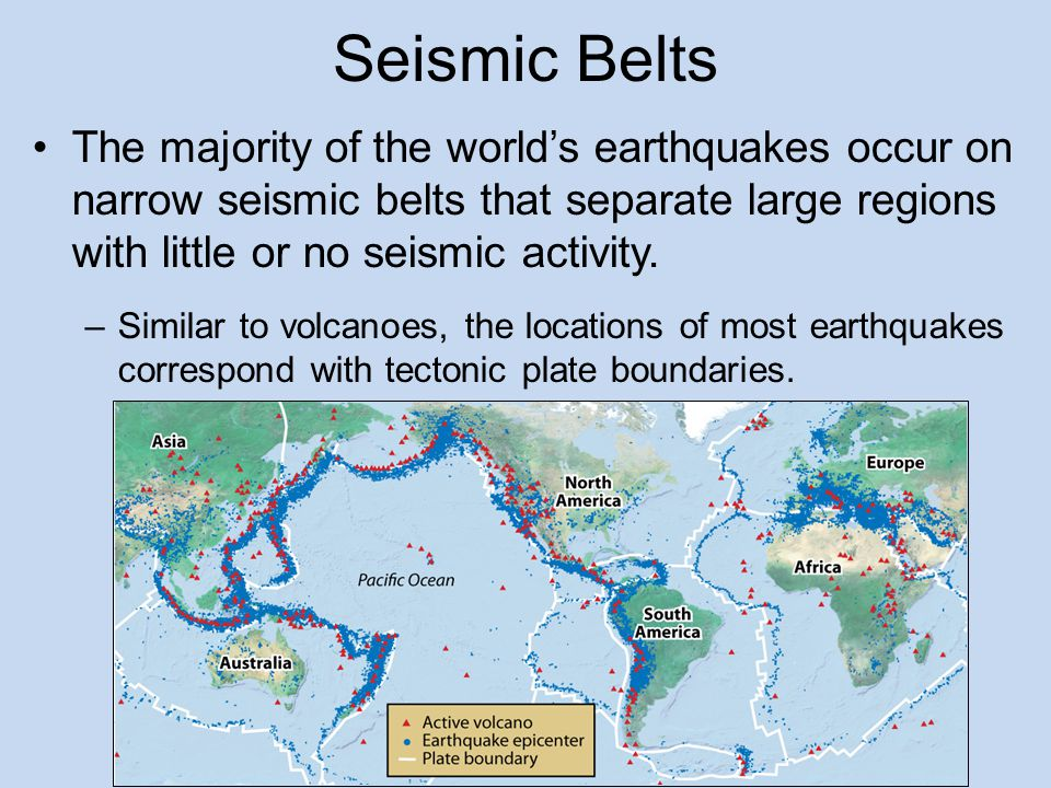 Measuring locating earthquakes earthquakes society ppt video 12 seismic belts gumiabroncs Gallery