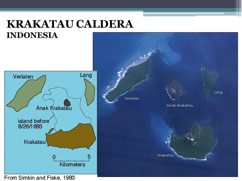 KRAKATAU CALDERA INDONESIA