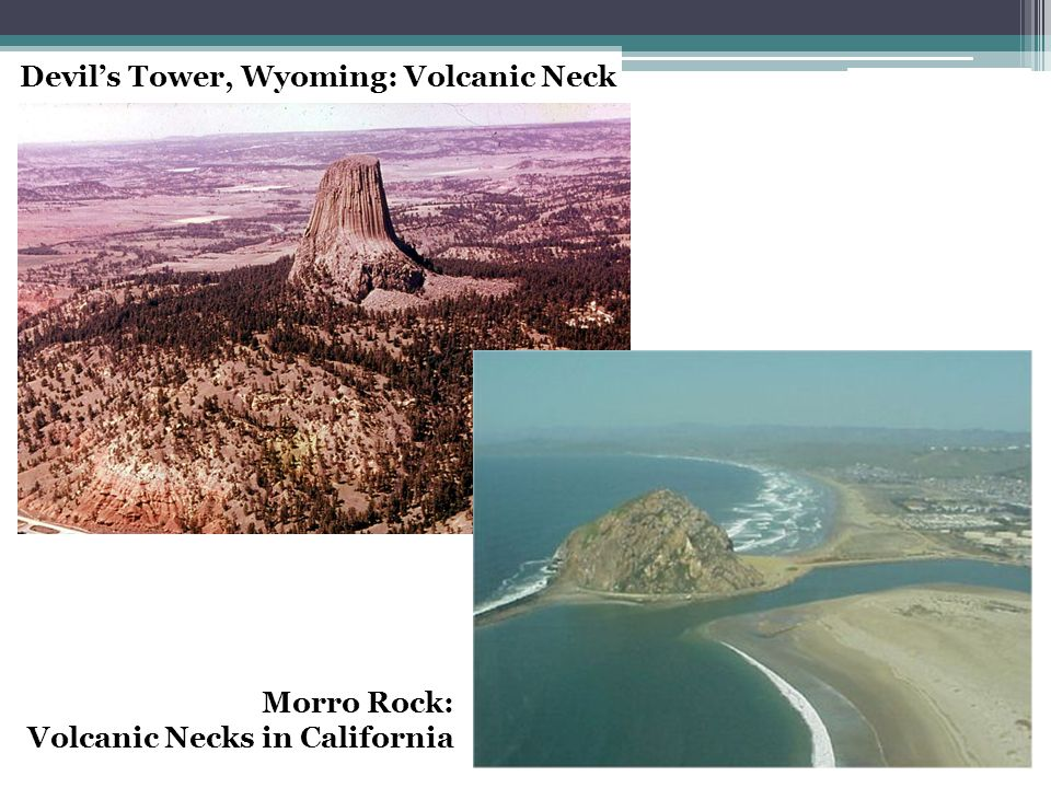 Devil's Tower, Wyoming: Volcanic Neck