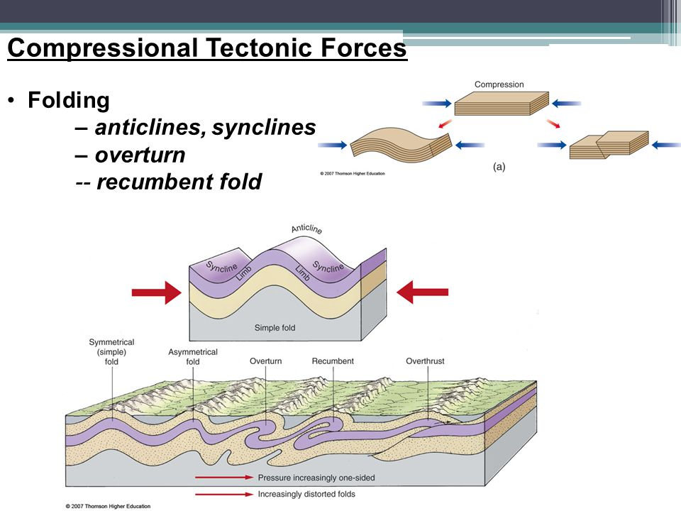 Compressional Tectonic Forces