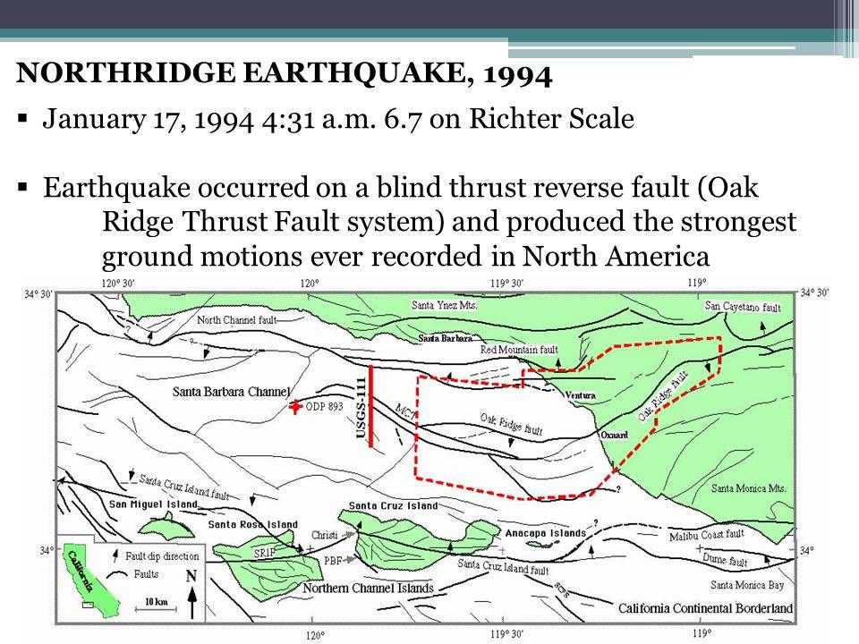 NORTHRIDGE EARTHQUAKE, 1994