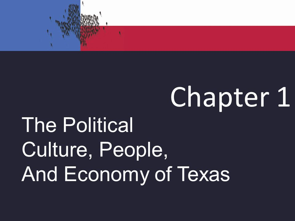 political culture of texas Several critiques have come to light since elazar first introduced his theory of state political culture fifty years ago the original theory rested on the assumption that new cultures could arise with the influx of settlers from different parts of the world however, since immigration patterns have changed over time, it could be argued that .