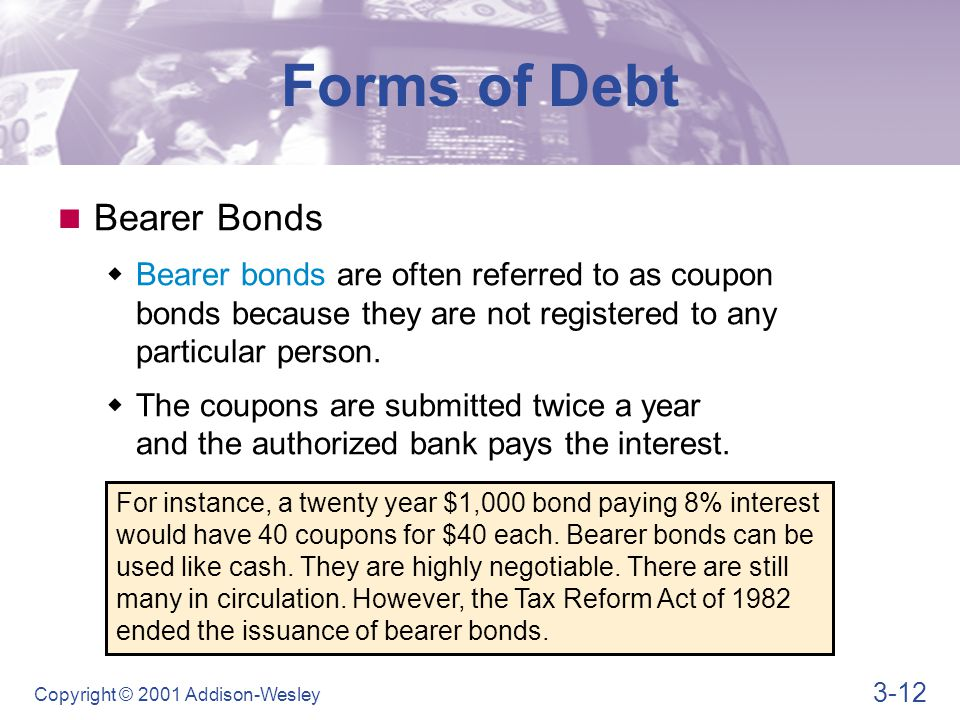 Learning Goals Describe the legal aspects of bond financing and ...