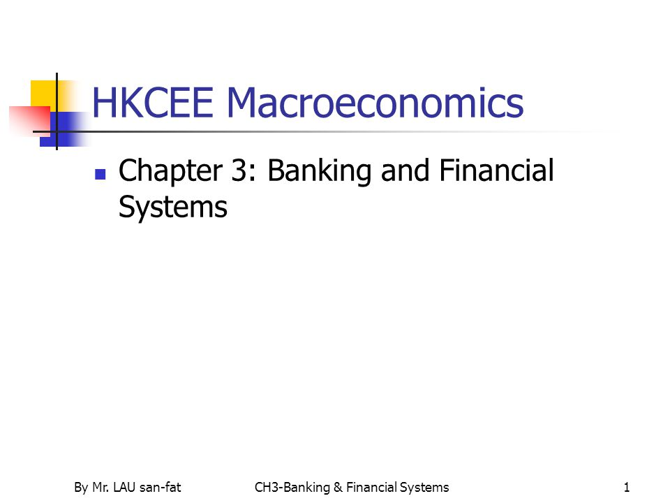CH3-Banking & Financial Systems