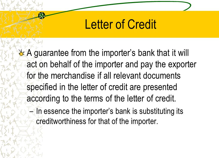 Time Draft A written order instructing the importer or his agent, the importer's bank, to pay the amount specified on its face on a certain date.