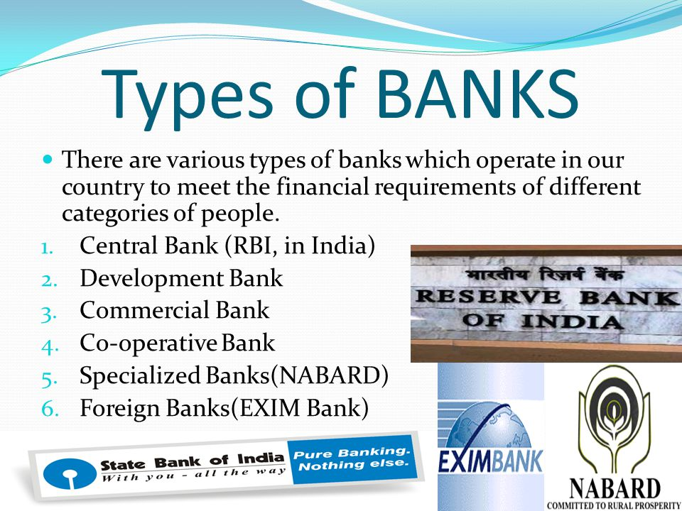 types of bank This article applies to classic commerce (looking for contextual commerce documentation) overview this article will teach you about.