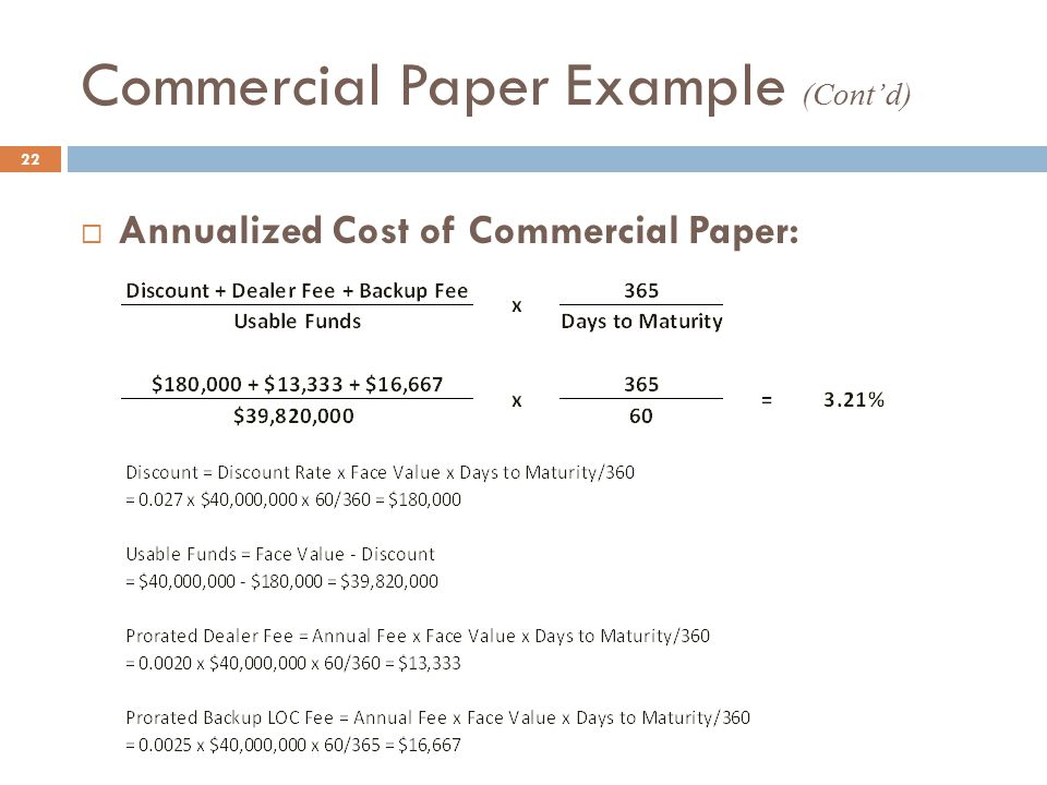 commercial paper source short term finance Definition of commercial paper: an unsecured obligation issued by a corporation or bank to finance its short-term credit needs, such as accounts.