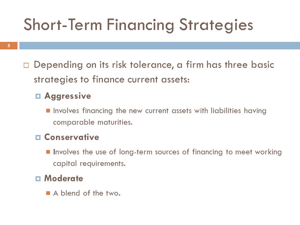 short term financial management How to establish sound financial management for your non profit term strategic planning and short-term of financial management the financial.