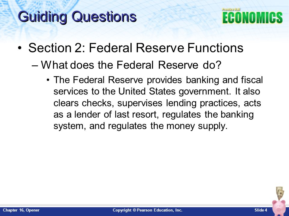 an analysis of the monetary policy of the federal reserve on guiding the economy Most people think about the federal reserve in its role as the nation's central bank, helping to determine monetary policy and manage the us economy guiding the.