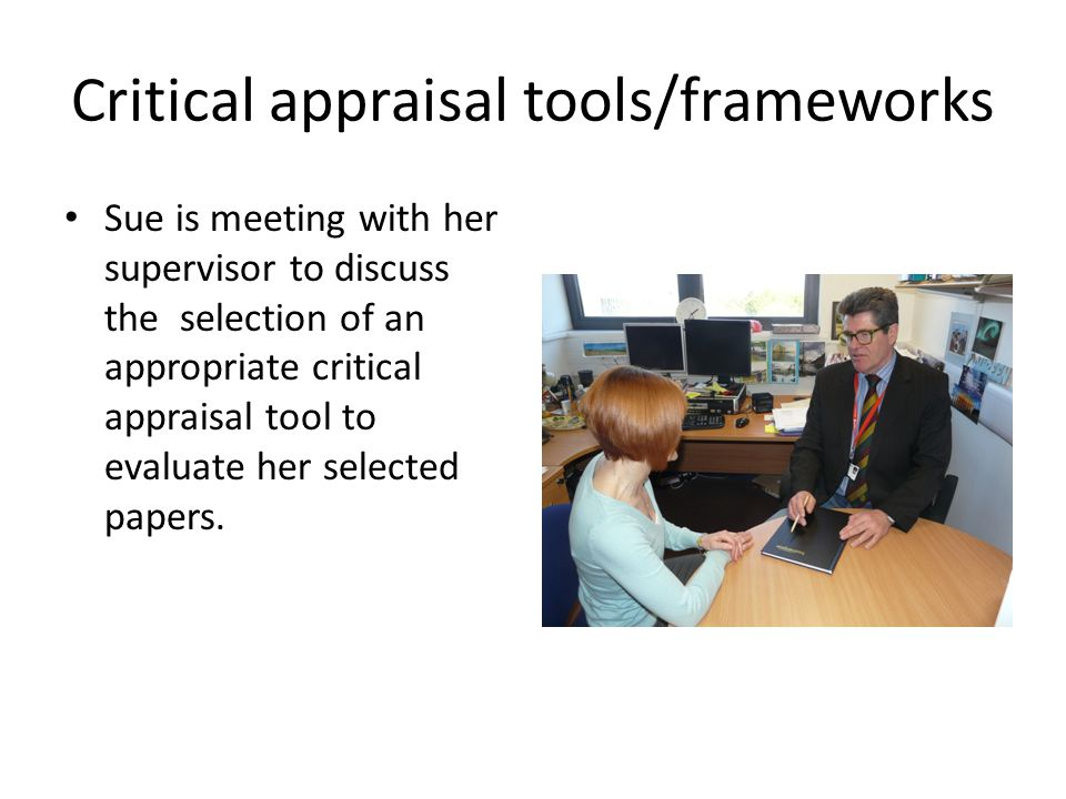 how to write a critical appraisal paper