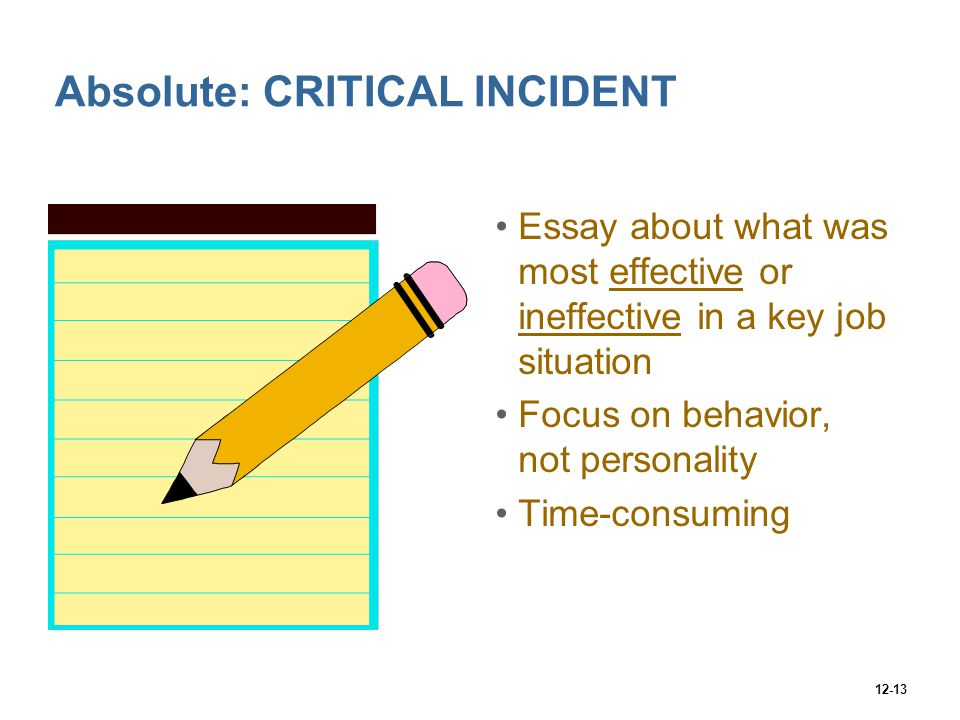 critical incident assignment A critical incident is an event unusually stressful to an individual which may cause either an immediate or delayed emotional reaction that surpasses the individual's available coping mechanisms.
