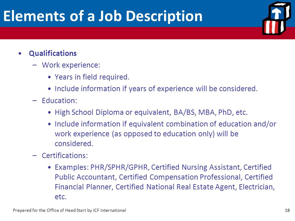 Developing and Keeping Good Employees: Job Descriptions ...