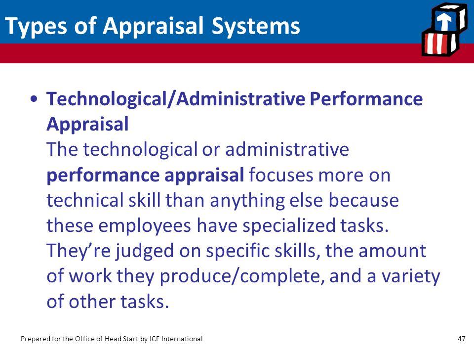 types of performance appraisal pdf