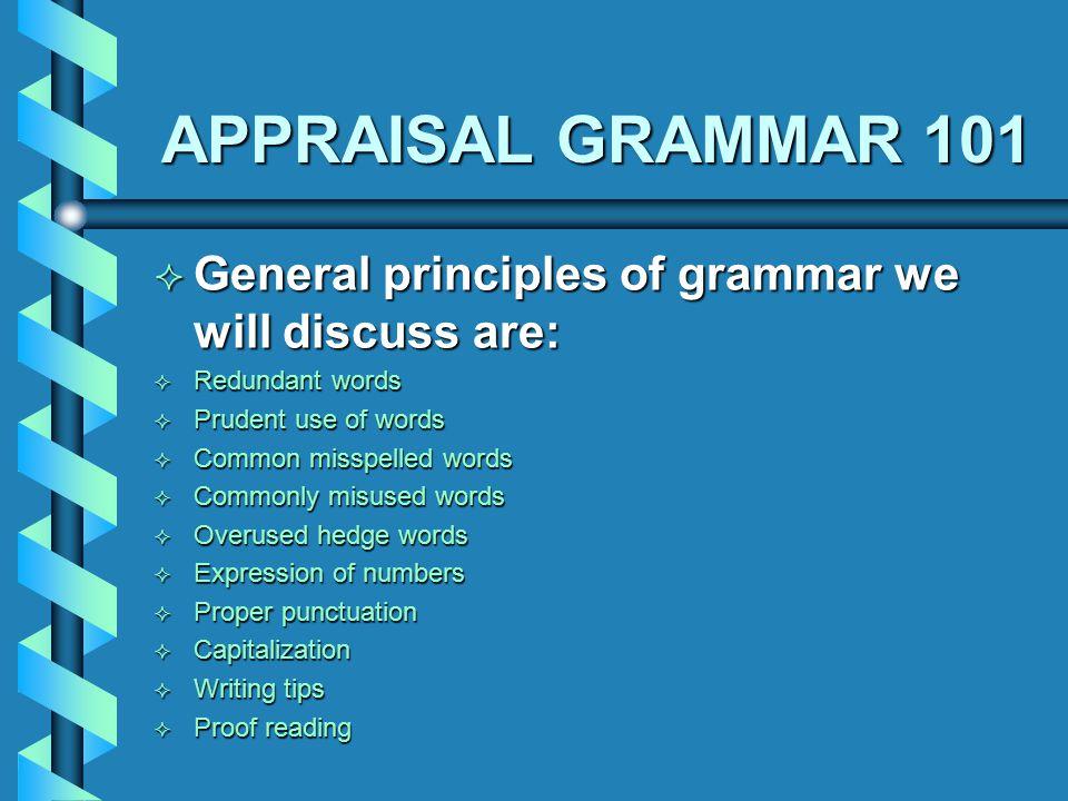 """APPRAISAL GRAMMAR 101 """"Huukt on Fonnix,"""" reelley wirked fir mee ..."""