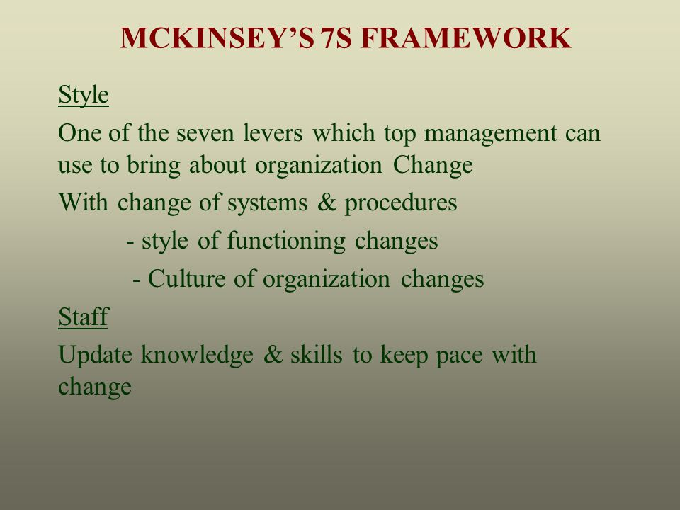 mckinsey co managing knowledge and This case is accompanied by a video short that can be shown in class or included in a digital coursepack instructors should consider the timing of m.
