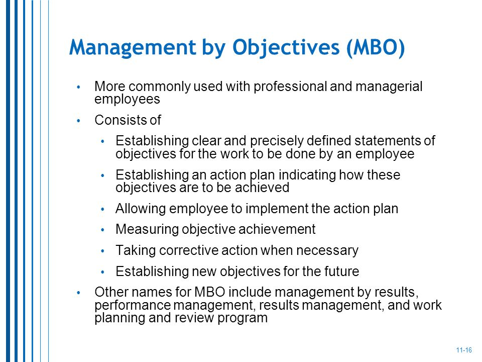 Essay on Management by Objectives (MBO)