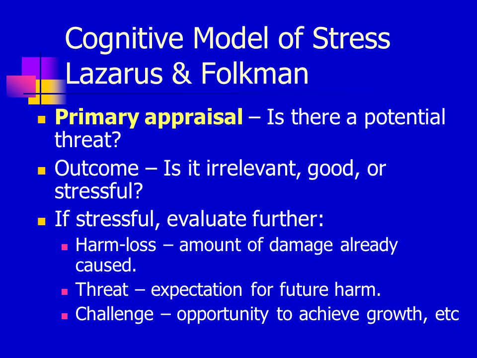 theories of growth loss and stress Traumatic stress: a theory based on rapid loss of resources  applied hobfoll's ( 1988 1989) conservation of resources (cor) stress theory to the  and coping  strategies as factors contributing to posttraumatic growth: a meta-analysis.