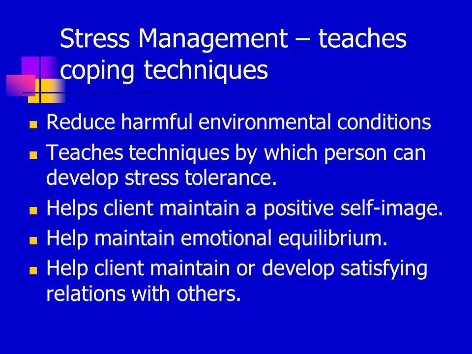 the impact of stress on people and the methods of coping with it Explains what stress mental health problems can cause stress you might find coping with the day-to helping you to better understand and support people with.
