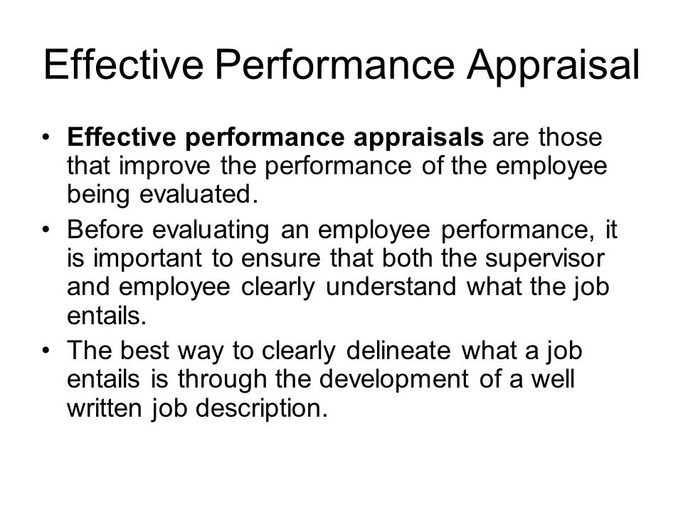 Performance Appraisal  Ppt Video Online Download