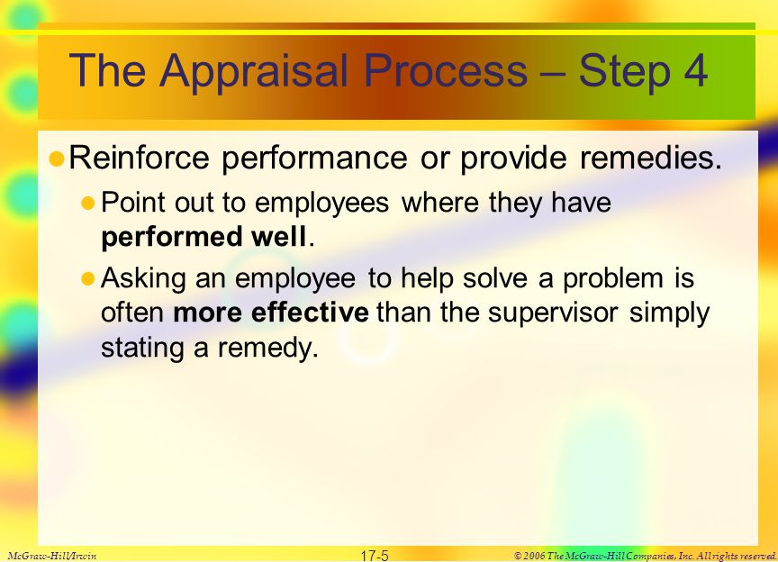 Problems with Performance Appraisals
