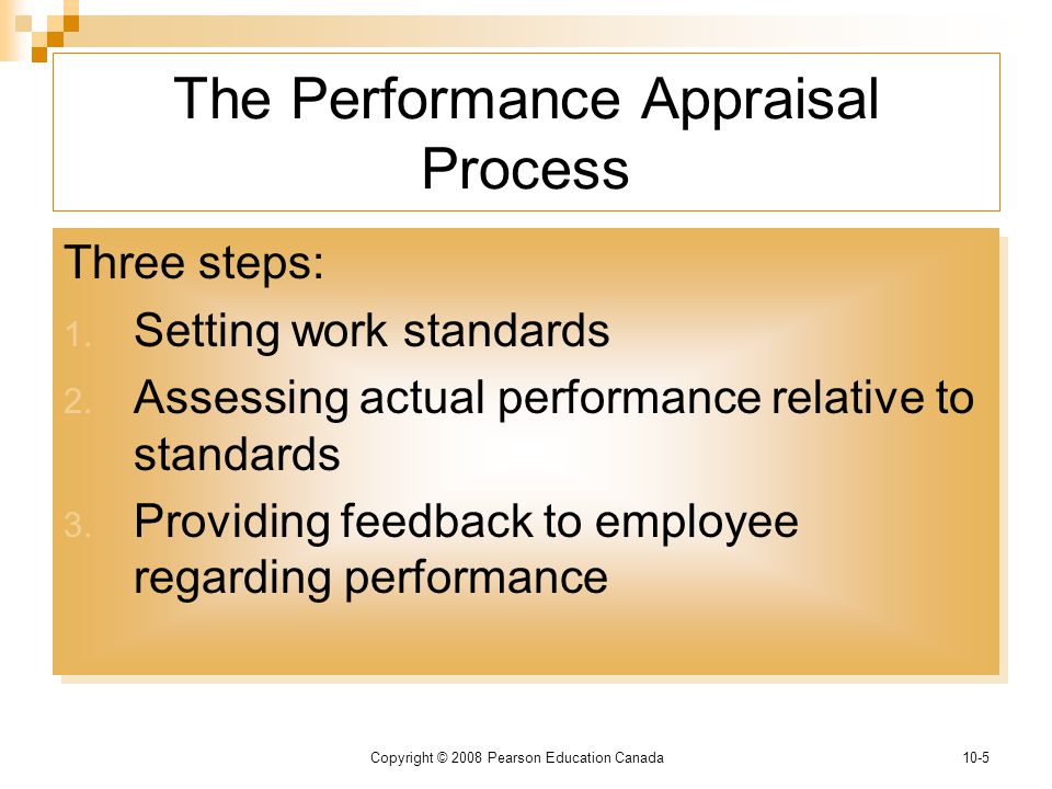 Performance Appraisal The Key To Effective Performance Management