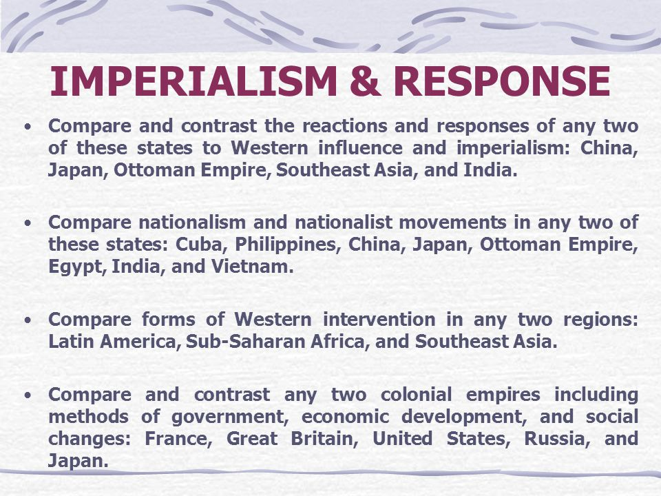 China and japan response western penetration 19th century