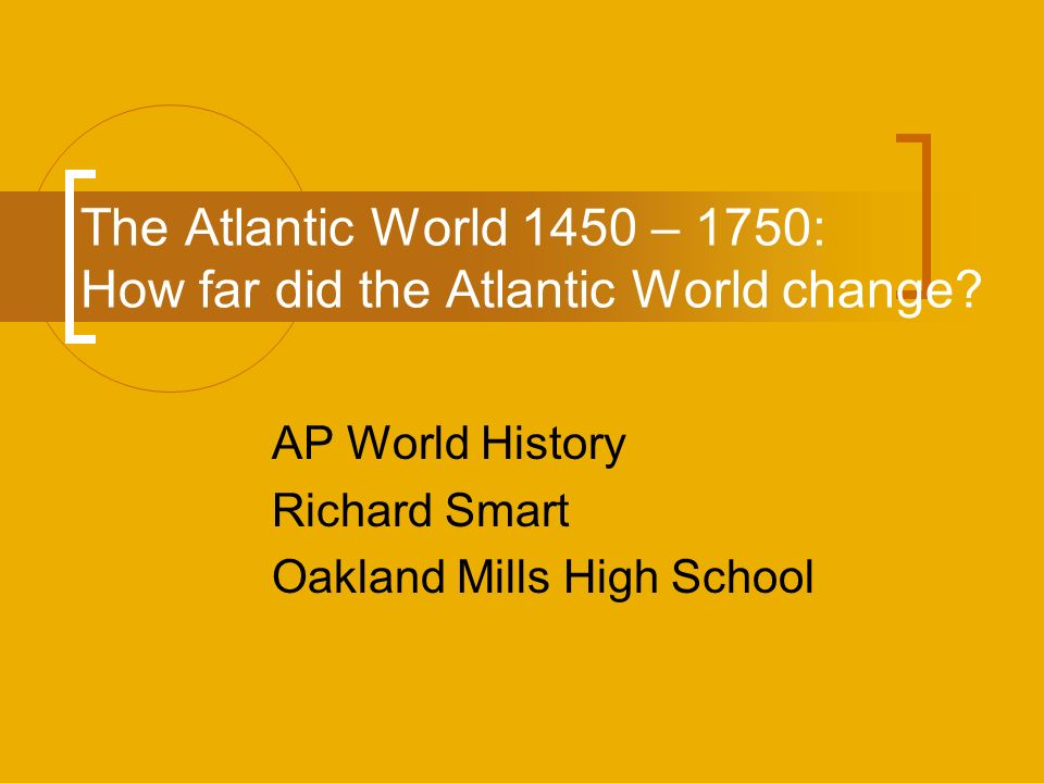 1450 1750 ap world history essay 1450-1750 early modern period printer friendly notes that cover an entire  section of world history and not just one particular chapter.