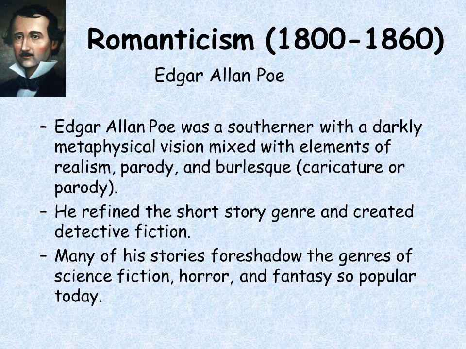 edgar allan poe romanticism