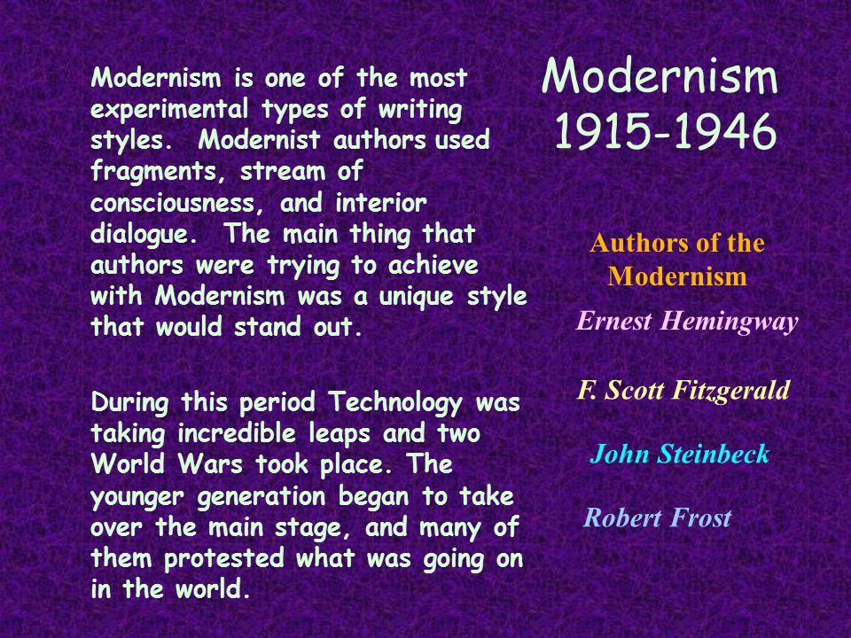 a comparison of f scott fitzgerald and ernest hemingway in writing styles Ernest hemingway and f scott fitzgerald were both from the same 'literary time' but their works are completely different hemingway writes in short, simple sentences mainly about pretty.