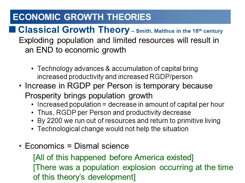 how to work out the change in economic growth