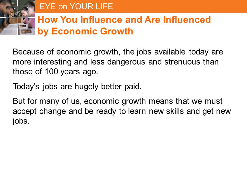 How You Influence and Are Influenced by Economic Growth