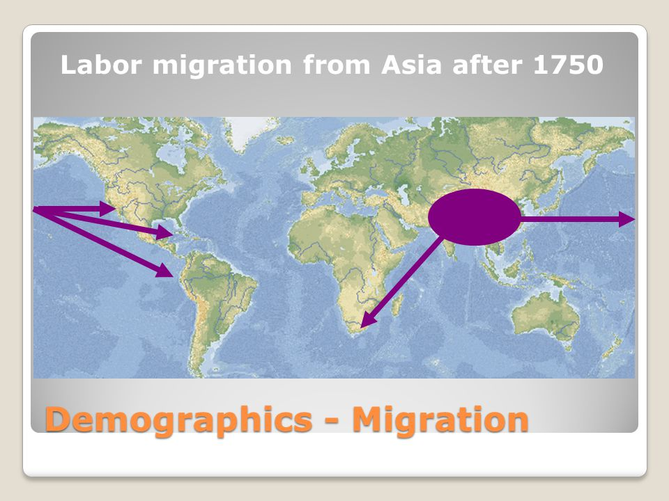 Demographics - Migration