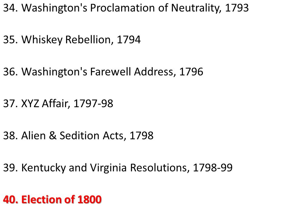 to what extent was the election of 1800 aptly named the revolution of of the following 1607-1763 the colonial period ap 2008 early 1775 to 1800 ap 2005 to what extent was the united the election of 1800 aptly named the revolution of.