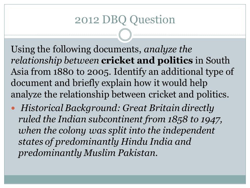 dbq about cricket 2012 ap world history cricket dbq responses free pdf ebook download: 2012 ap world history cricket dbq responses download or read online ebook 2012 ap world history cricket dbq responses in pdf format from the best user guide.