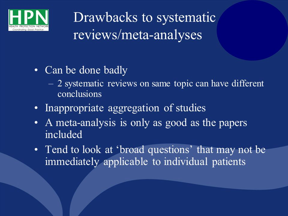 critical appraisal of a systematic review Usually the objective of a systematic review is to answer a question, and to do   for excellence, critical appraisal skills programme (casp) and many others.