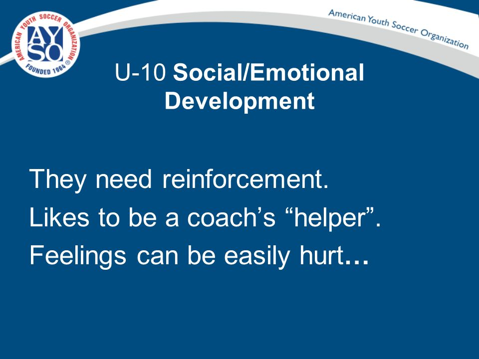 U-10 Social/Emotional Development