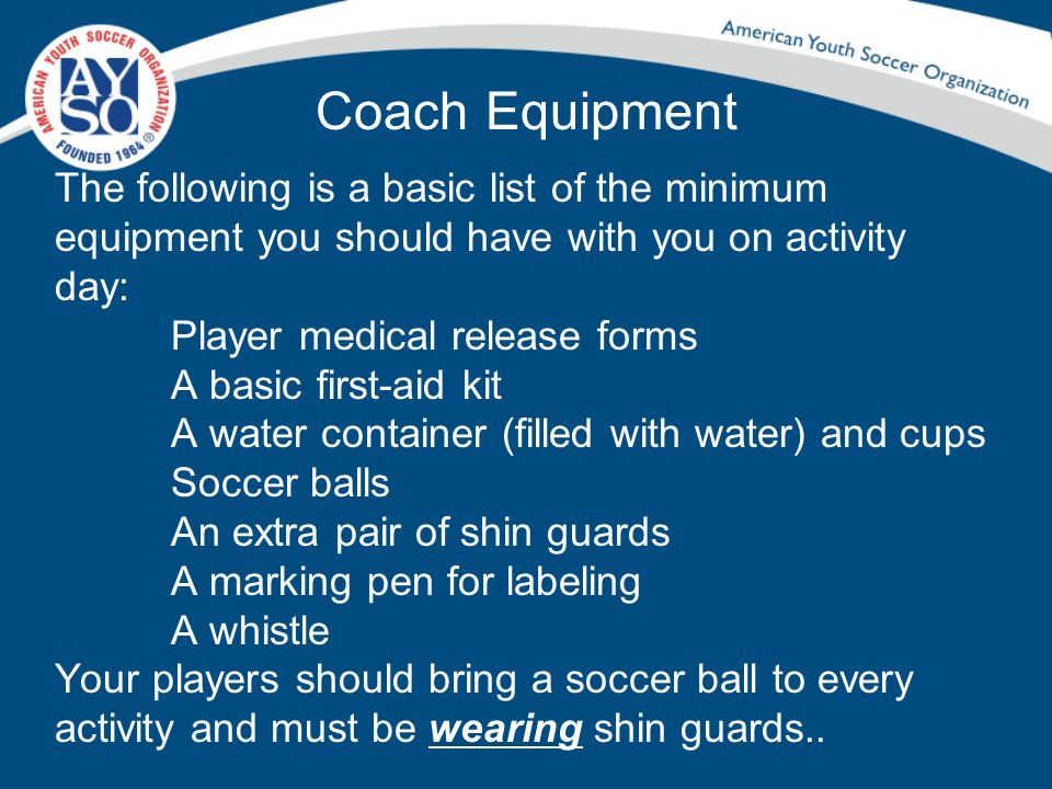Coach Equipment
