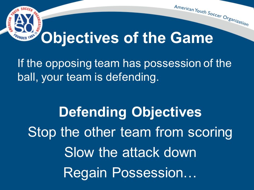 Stop the other team from scoring