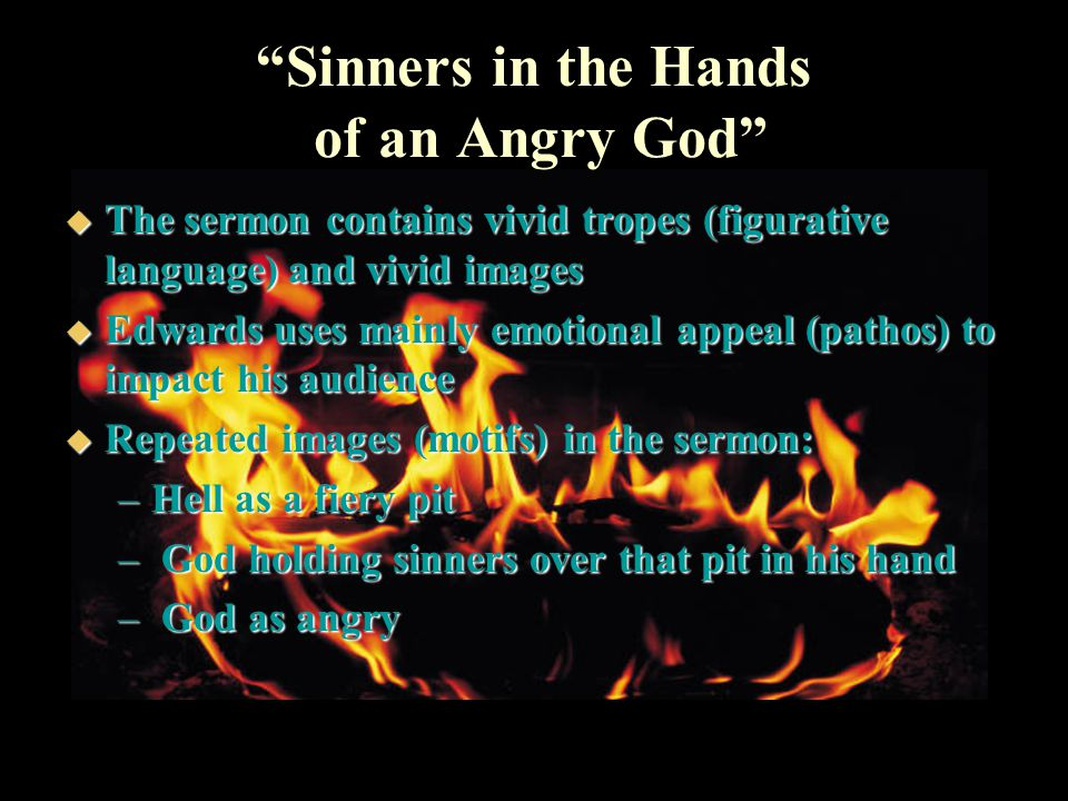 sinner in the hands of an Edward's sinners in the hands of an angry god [jonathan edwards] on amazoncom free shipping on qualifying offers.