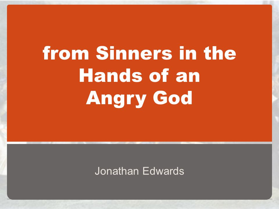 jonathan edwards short biography
