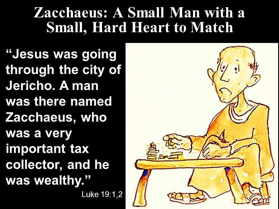Jesus Does Heart Transplants: The Transformation of Zacchaeus ...