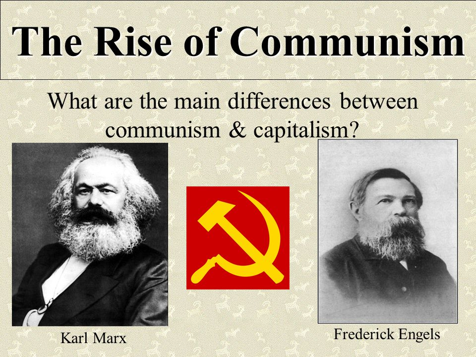 the idea of capitalism by karl marx should be taught in schools What do marx and public education in capitalism: a marxist this idea of education is a strong legitimating force of capitalism the idea of equal.