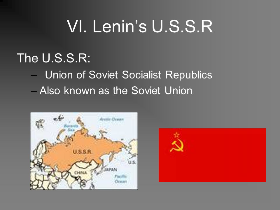 THE SOVIET UNION: SOCIALIST REALISM AND WORLD WAR II