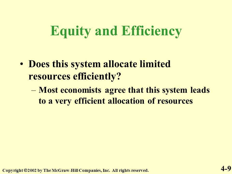 mixed economy approach to allocating scarce resources In a free market economy, resources are allocated through the interaction of   the second solution to the economic problem is the allocation of scarce  resources by government,  this method is referred to as central planning, and  economies that  mixed economies may also have a distinct public sector, where  resources.