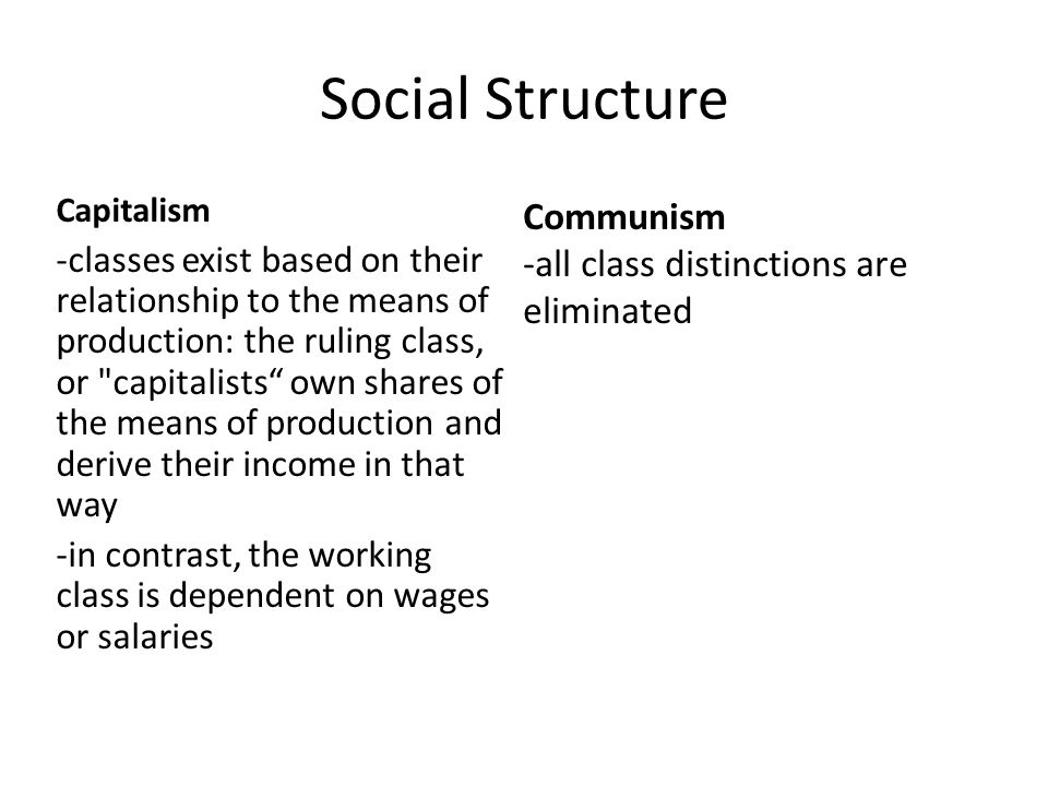 how communism affects social classes in Social phenomenon social class did not disappear on november 9, 1989 some communism was associated with class conflict and sought to polarize the classes in order to imbue the.